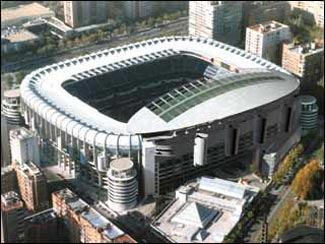 Santiago Bernabeu Real Madrid