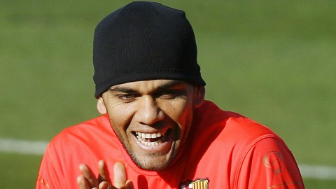Alves training
