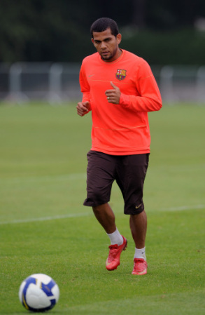 Alves training 1