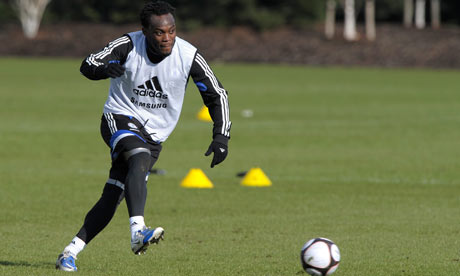 Essien training