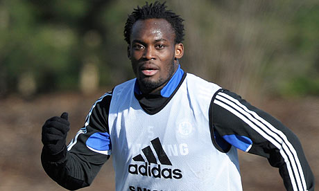Essien training 1