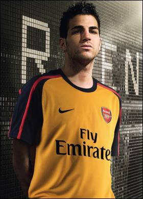 Fabregas yellow