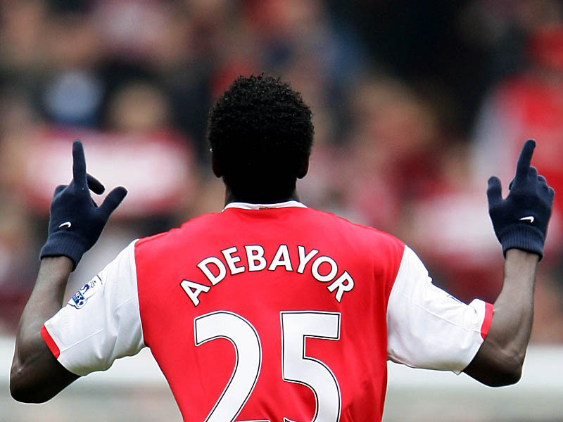 Adebayor 25