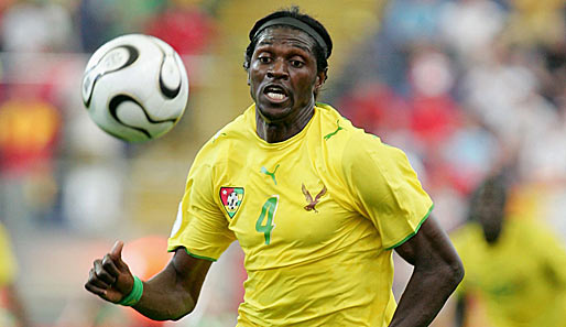 Adebayor yellow