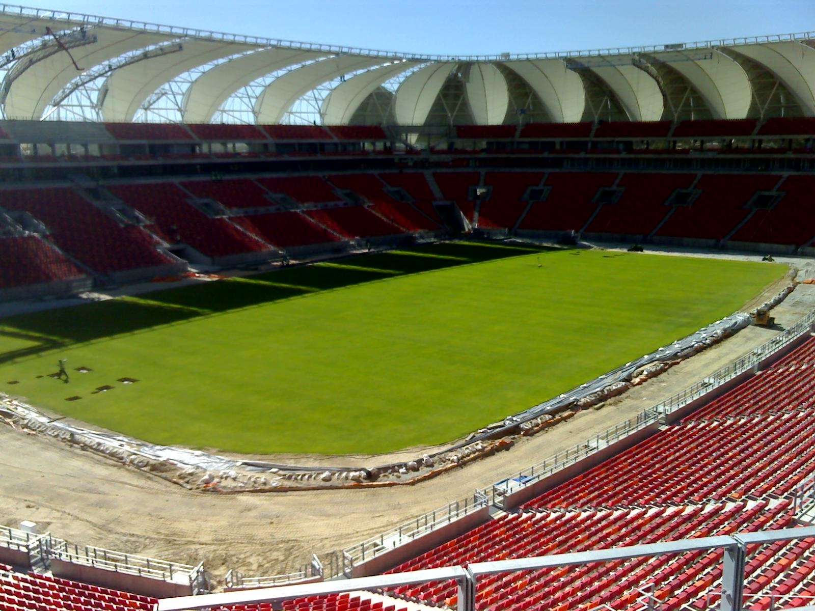 nelson mandela  bay-stadium-field