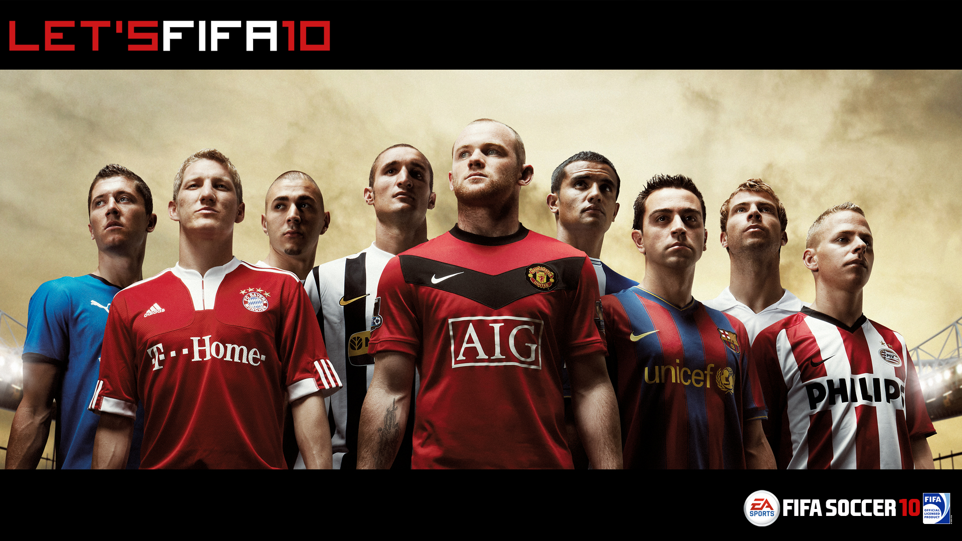 Manchester united mobile wallpapers FIFASoccer10 Wallpaper HD