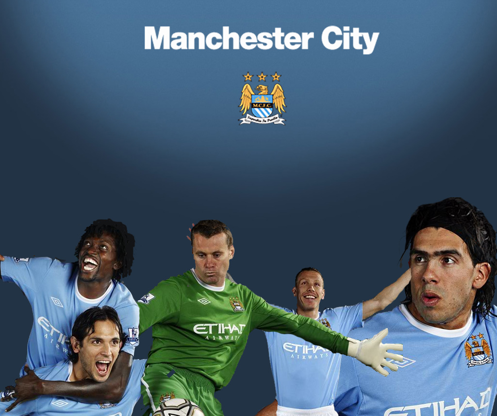 Manchester City 2010 Wallpaper