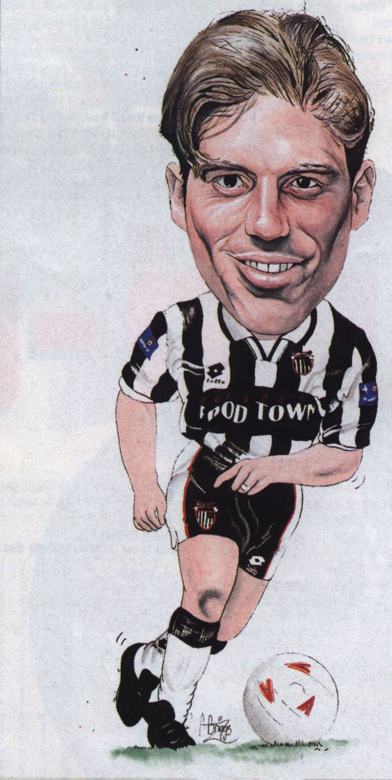 Nicky Southall Caricature  Picture