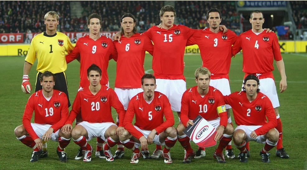 Euro 2008 National Team Austria