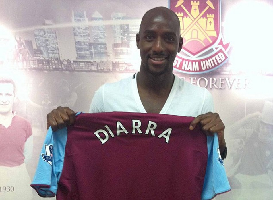 Alou Diarra West Ham from Marseille