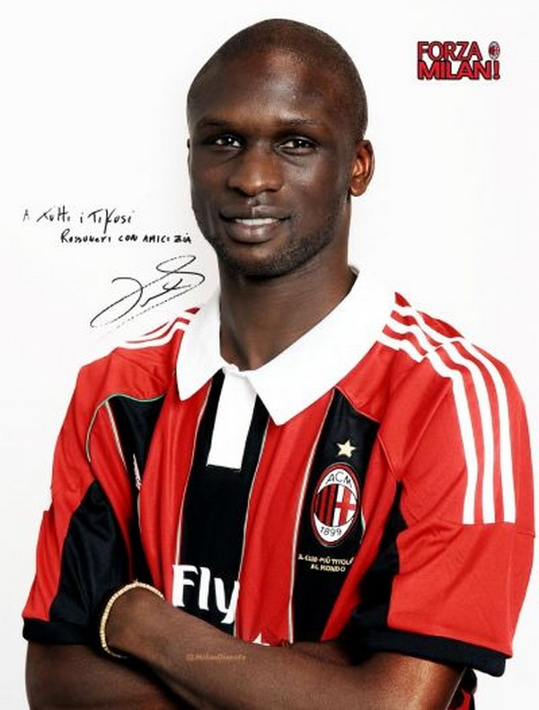 Bakaye Traore Milan from Nancy