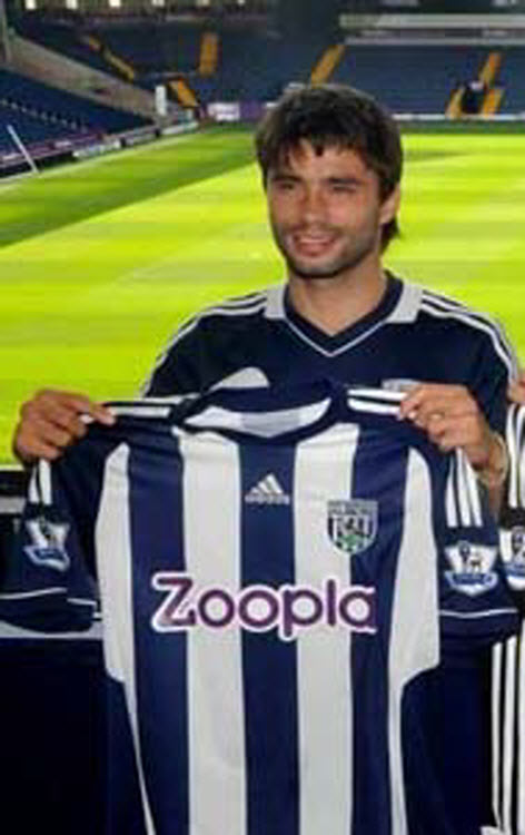 Claudio Yacob West Bromwich from Racing Club