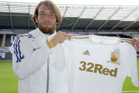 Michu Swansea City from Rayo Vallecano