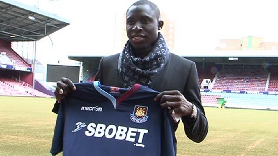Mohamed Diame West Ham from Wigan