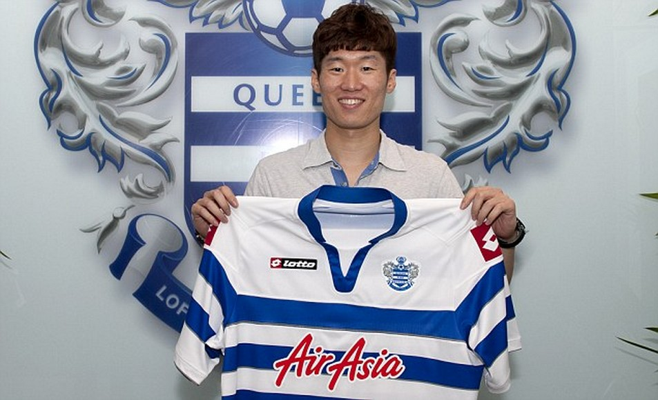 Park Ji-Sung qpr from m.united