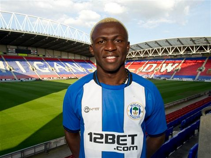 arouna-kone Wigan from Levante