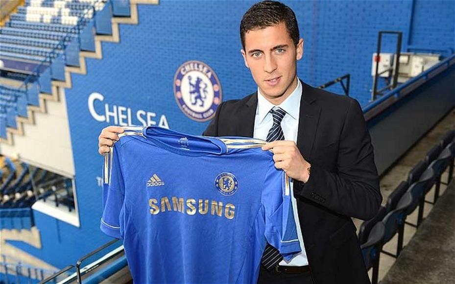 eden-hazard Chelsea from Lille