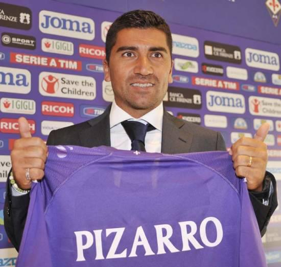 David Pizarro Fiorentina from Roma