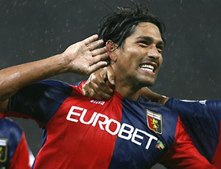 Marco Borriello Genoa from Roma