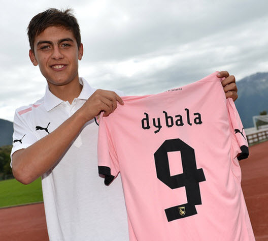 Paulo Dybalan palermo from Instituto