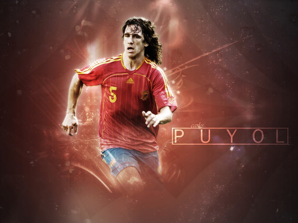 world cup,world cup 2010, South Africa, football, soccer,Spanyol Team World Cup Puyol Wallpaper