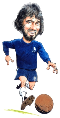 alan hudson Caricature