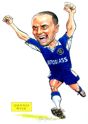 dennis wise Caricature