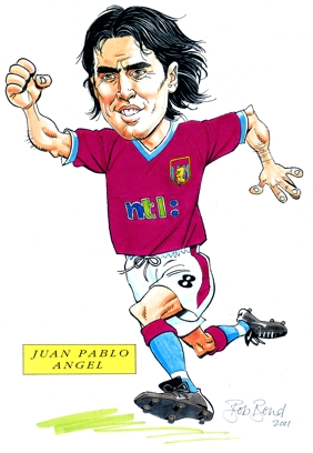 Juan Pablo Angel Caricature
