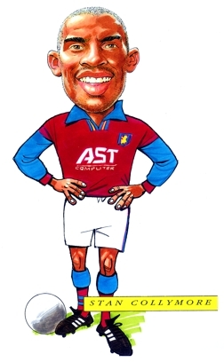 Stan Collymore Caricature