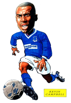 Kevin Campbell Caricature