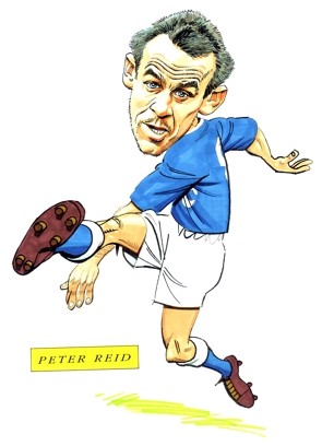 Peter Reid Caricature
