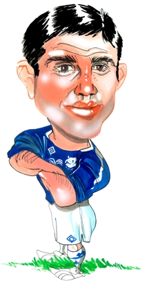 Tim Cahill Caricature