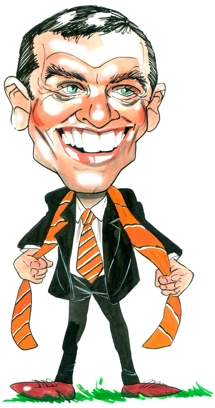 Phil Brown Caricature