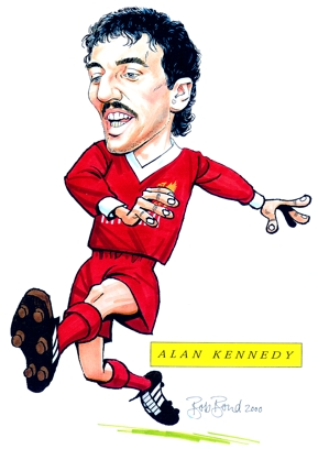 Alan Kennedy Caricature