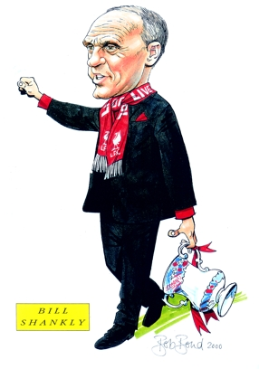 Bill Shankly Caricature