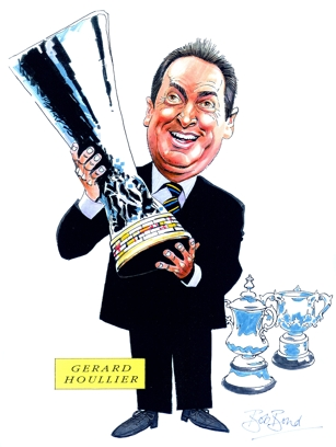 Gerard Houllier Caricature