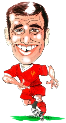 Ian Callaghan Caricature