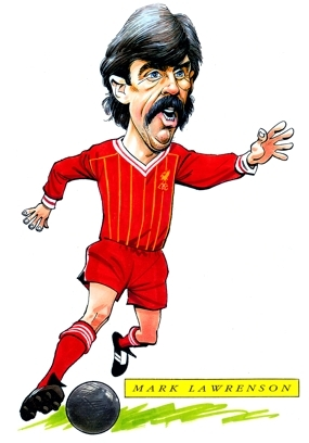 Mark Lawrenson Caricature