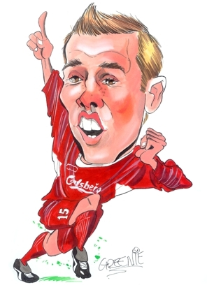 Peter Crouch Caricature