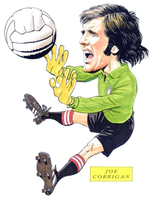 Joe Corrigan Caricature