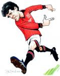 Mark Hughes Caricature
