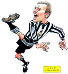 Alan Shearer Caricature