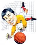 Gordon Banks Caricature