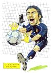 Gianluigi Buffon Caricature