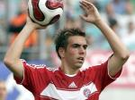 Philipp Lahm throw in