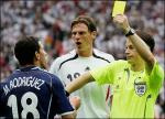 Maxi Rodriguez Yellow Card