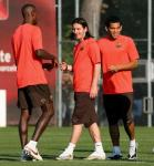 Abidal training