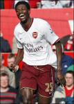 Adebayor arsenal