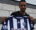 Yassine El Ghanassy West Bromwich from Gent