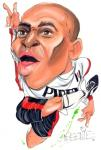 Luis Boa Morte Caricature